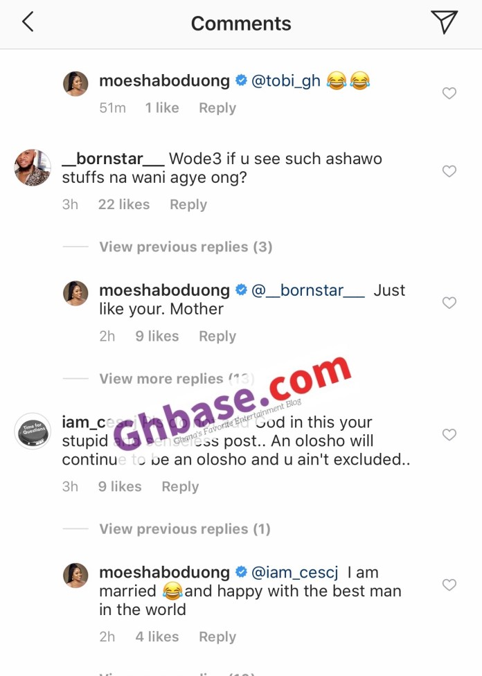 1BD8E656 DF96 4D5D AEBD 3D906E7988F1 - I Am Rich And Happily Married To The Best Man In The World – Moesha Buduong Tells Fans