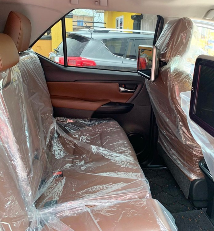 A4A4812A 578C 4595 B4A4 1270BD9343DF - Actress Tracey Boakye's Fiancé Surprises Her With A Brand New 2019 Toyota Fortuner As Easter Gift (+ Photos)