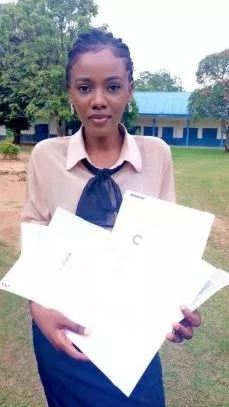 Franka Anyama Undie 1 - Beautiful and brilliant lady flaunts 10 admission letters she got from foreign universities (PHOTOS)
