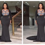 People Are Talking About This Outfit Benedicta Gafah Wore To '2 Pilots' Movie Premier
