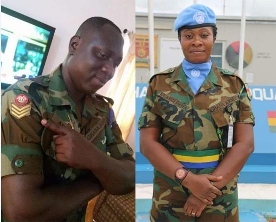 Soldier couple drowns after Sundays heavy rains in Accra - Soldier couple drowns after Sunday's heavy rains in Accra (PHOTOS)