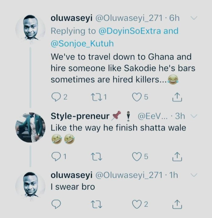 emin1 - 'We Would Hire Sarkodie To Destroy Eminem Like He Did To Shatta Wale' – Nigerian Social Media Users Hail Obidi