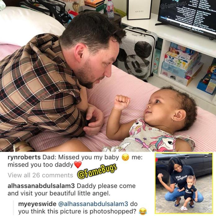 ryn roberts - Yvonne Nelson deletes all photos of her daughter on social media and Ryn's Instagram page after Nana Aba Anamoah's shade? (SCREENSHOTS)