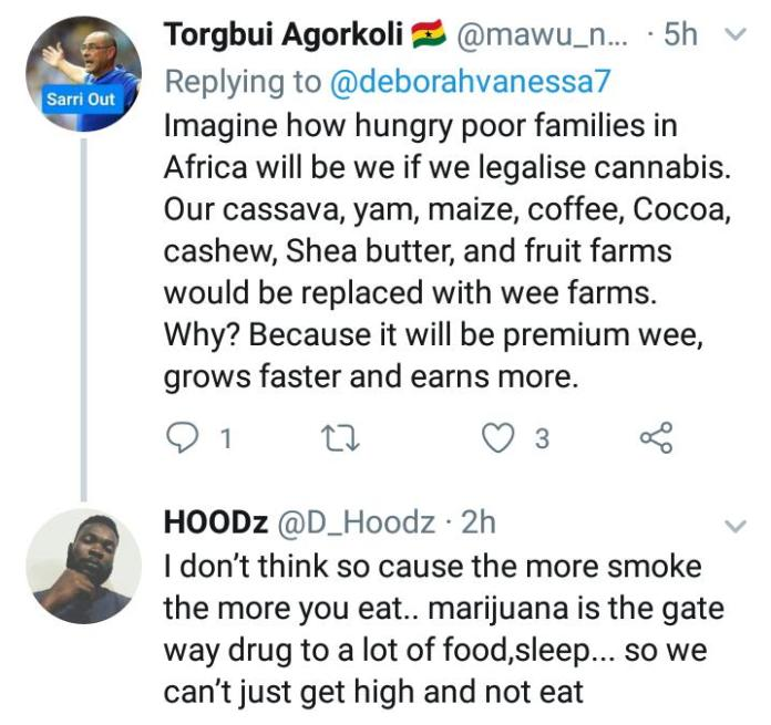 sis derb - 'Let's Legalize Weed, It Will Make Africa Rich & Powerful'- Sister Derby (+Screenshot)