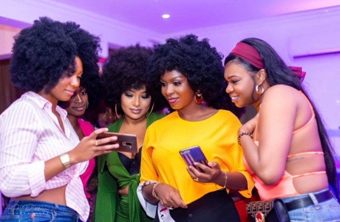 5EBC5DBD 8DC7 448D 81FA 330232333542 - Photos From The Bridal Shower Of John Dumelo's Wife Gifty, Ahead Of Their White Wedding This Weekend