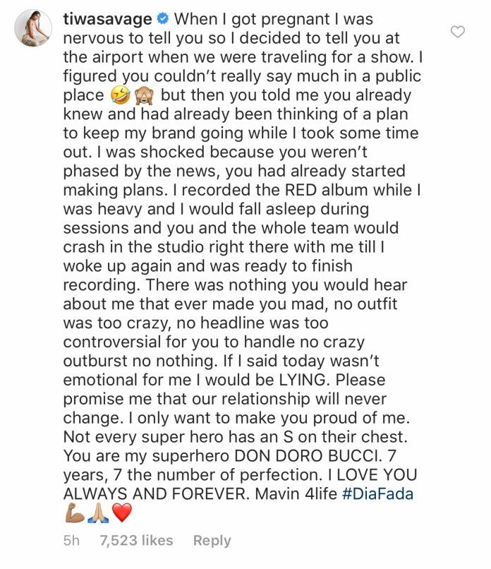6F883266 9368 4189 8953 BC5BCE110C90 - Tiwa Savage Pens Down An Emotional Piece To Don Jazzy Following Her New Contract With Universal Music Group