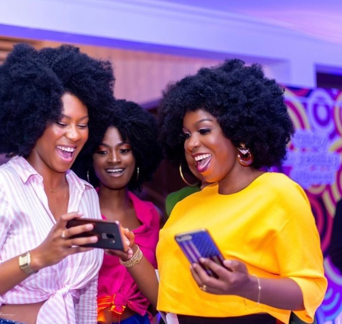 8887DF23 4E7F 4EB1 87C4 A9EA40798225 - Photos From The Bridal Shower Of John Dumelo's Wife Gifty, Ahead Of Their White Wedding This Weekend