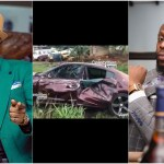 Kalybos Survives A Gory Accident As His Brand New Dodge Charger Crashes Drastically (+Video)