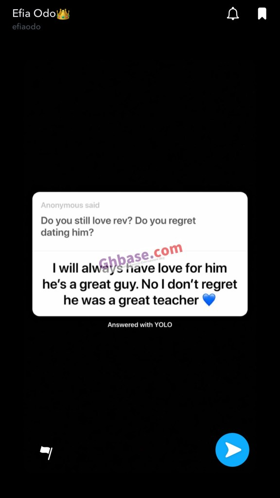 DF6B337A FC4F 4DFC 9EDE 7884D49FBF91 - I Will Always Love Reveloe And Never Regretted Dating Him For He Is A Great Guy- Efia Odo