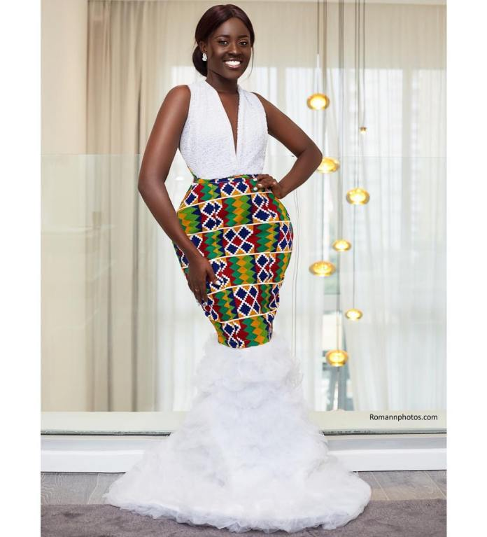 fellamakafui 58876528 280218416220737 3049272738035445125 n - Slayer Of Africa Fashion: Fella Makafui Looks Exquisite As She Rocks African Prints (Photos)