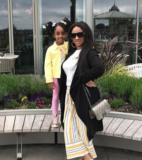 gifty gyan 1 - Asamoah Gyan's wife and daughter looks adorable together as they step out in style (Photos)