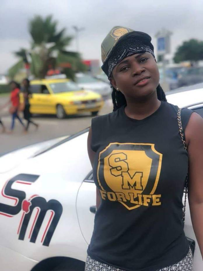 obaapa shatta wale 6 - 7 hot and beautiful photos of the female SM fan whose tattoo of Shatta Wale's name on her breast went viral