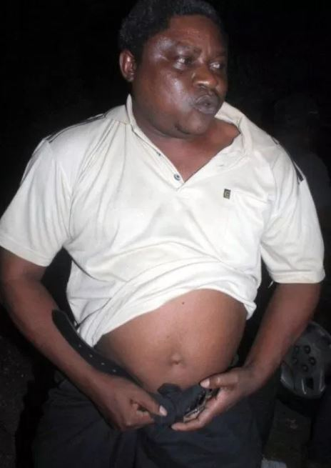 Shame: Catholic Priest Caught Chopping A Prostitute In His Vehicle (Photos) 3
