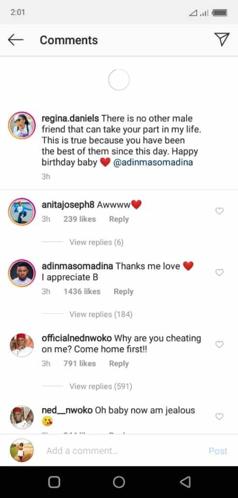 regty - Regina Daniels' Billionaire Husband Acts Jealous After Seeing Her Cozying Up With A different Guy
