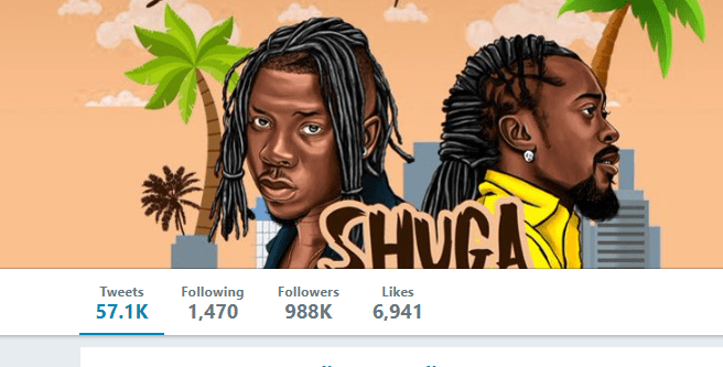 stonegod - Stonebwoy's Instagram & Twitter Followers Shoot Up After VGMAs Fracas- See The Statistics