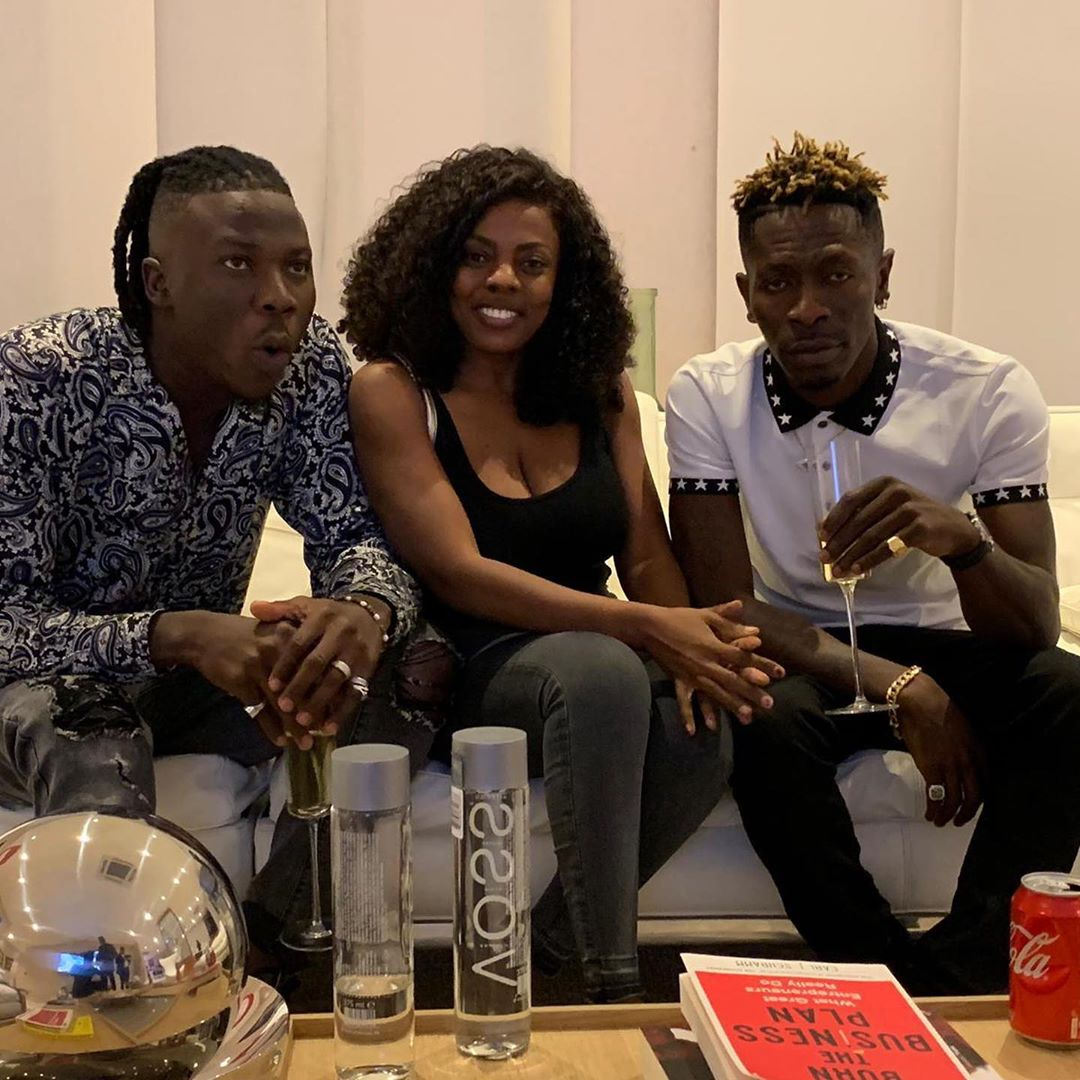 Ghanaian singers Shatta Wale and Stonebwoy make peace days after public fight
