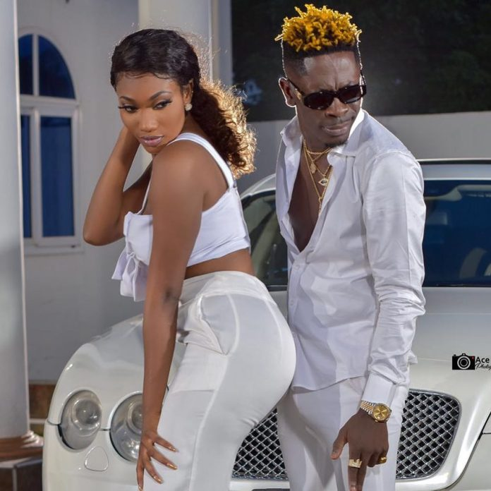 wale shay 2 - Love in the air as Shatta Wale proposes marriage to Wendy Shay (Photos + Screenshot)