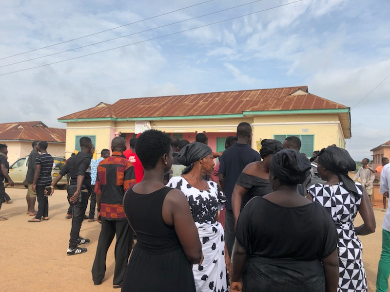 First Photos From Junior US Funeral In Ghana