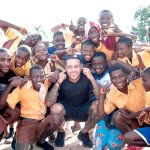 Former Manchester United Player, Memphis Depay Visits Ghana For The Second Time & Goes To Cape Coast For Some Charitable Projects