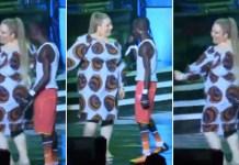 patapaa performs with white girlfriend