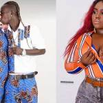 Patapaa's ex-girlfriend mocks him over rumours that his Obroni girlfriend has been choped by many musicians (Video)