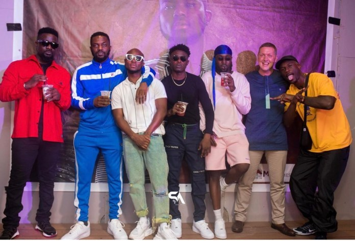 Photos From King Promise's Album(As Promised) Listening Inside Kwarleyz Apartments 4