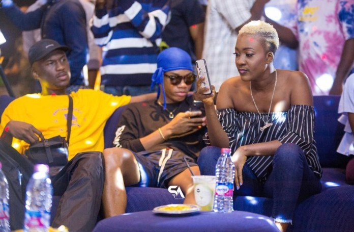 Photos From King Promise's Album(As Promised) Listening Inside Kwarleyz Apartments 8