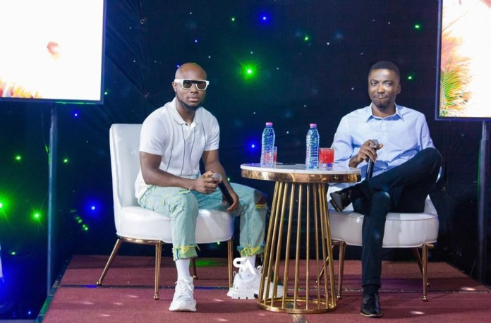 Photos From King Promise's Album(As Promised) Listening Inside Kwarleyz Apartments 9