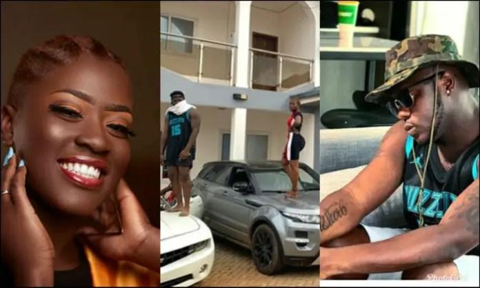 PhotoGrid 1563754619980 e1563754815675 - Sowutuom Jay Z( Medikal) and Kpando Beyonce ( Fella Makafui) flaunt their luxurious cars and big mansion ( Screenshot)