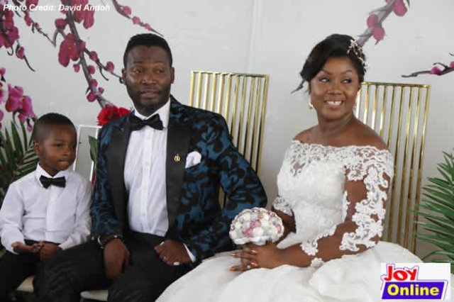 Adjetey Anang & His Wife Of 12 Years Renew Wedding Vows (Photos) 5