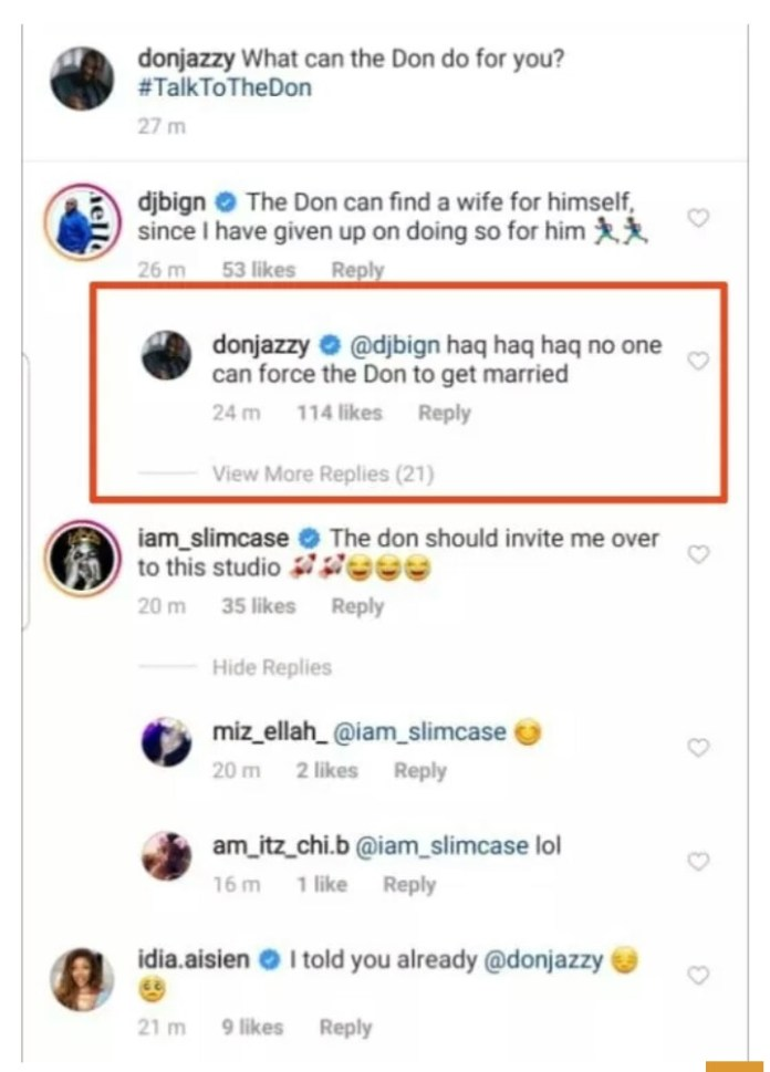 No One Can Force Me To Get Married - 37-yr-old Don Jazzy 1