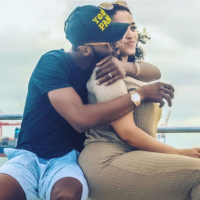 D'banj and his wife are expecting another son soon 2