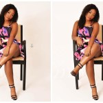 Strongman's Girlfriend, Nana Ama Still Looks Beautiful In A New Photo Weeks After Delivery