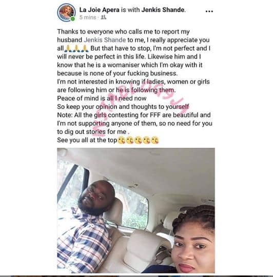 """""""I Know My Husband Is A Womanizer""""-Lady Tells Those Who Keep Reporting Her Husband To Stop Warning Her 2"""