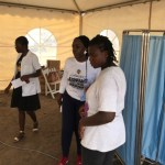 Dr. Louisa & Her Dad Attend To Fans At Free Health Screening Ahead of 'Ashaiman To Da World' Concert