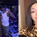 Moesha Bodoung spotted in Dubai chilling with Wizkid