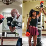 World Tennis Champion Serena Williams Meets Mike Tyson For Boxing – Video