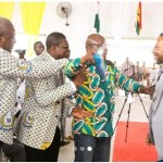 Owusu Bempah Almost Beaten By Mahama's Aide After He Attempts To Shake Hands With Him