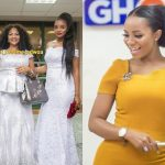 Photo Of Serwaa Amihere's Adorable Mum And Younger Sister Emerges Online