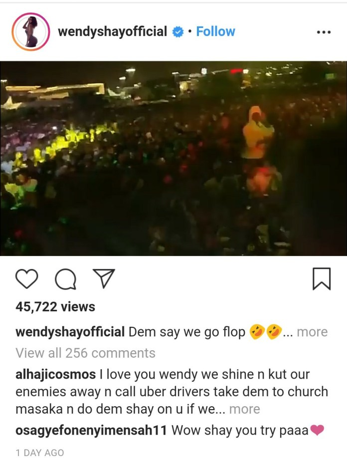 Wendy Brags She's The Hottest & Richest Female Artist In Ghana 2