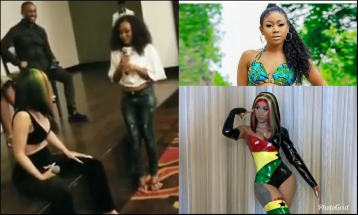 Afia Schwarzenegger angrily jabs Cardi B and organisers for wasting her time