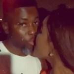 Video: A Plus and Akosua Vee lock lips to trash breakup rumors
