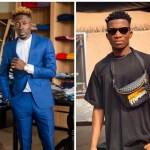 Shatta Wale Collapses On Stage After Listening To Kofi Kinaata's 'Wicked Bars' At Made In Taadi Concert (+Video)