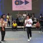 "A Video Of Becca's Sound Check Ahead Of ""Born In Africa Fest"" In Nigeria"