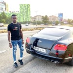 Criss Waddle Customizes New Bentley As He Storms Town With It (+Photo)