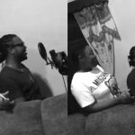 (VIDEO) Emelia Brobey And Prince Bright Hit The Studio To Cook Something For Ghanaians