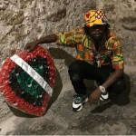 Jamaican Artist Popcaan Visits Cape Coast Castle, Becomes All Emotional After Being Taken Round The Dungeons