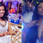 Nana Aba Anamoah shamefully deletes her viral breasts showing video from her Instagram page after pimping allegations