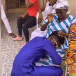 Kuame Eugene's 99-Year Old Grandmother Prays For Him-Watch Video
