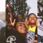 Stonebwoy Storms His Alma Mater, Tema Methodist Day SHS – VIDEO